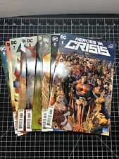 DC Comics Heroes In Crisis 1 2 3 4 5 6 7 8 & 9 (1-9) Complete Set NM