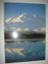 Vintage Rppc Mt. McKinley, Alaska 20,300 ft, Highest in North America post card