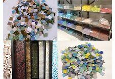 5 Kg! Mosaiksteine bunte Mischung 2x2 cm ca.1750 Stck. Mosaikfliesen Glasmosaik