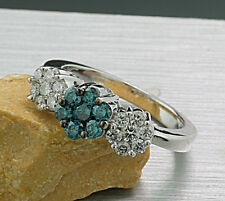 Brillant-Ring total 1,00 carat 585 Weißgold Neu (6101)