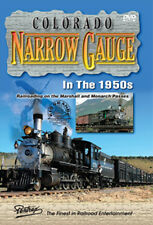 Colorado Narrow Gauge in the 1950s DVD Marshall Monarch Passes Pentrex Salida