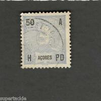 1906 Azores SCOTT #106 Portugal Colony  Θ used stamp