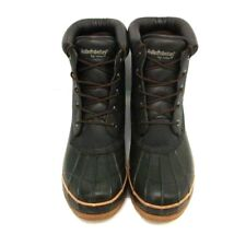 Weather Protectors By Totes Mens Duck Boot Steel Shank Brown Black Size 12