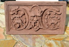 Steinfiguren Garten-Sandstein Guss Relief frostfest nach dem Orginal gefertigt