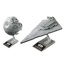 BANDAI Star Wars Death Star II & Star Destroyer Mini Plastic Model Set New 2018