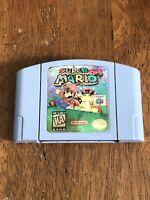 Super Mario 64 Nintendo 64 N64 Fighting Game Cartridge Cart Authentic TESTED!