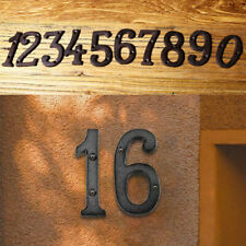 Iron Metal Sign Alphabet House Address/Number Digits Design Cafe Wall Decor