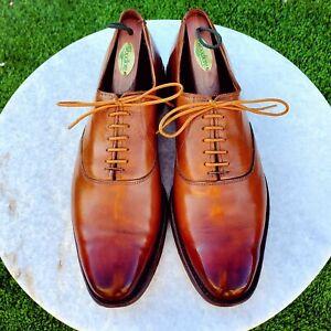 Allen Edmonds Walnut Carlyle Oxford Shoes - 10B