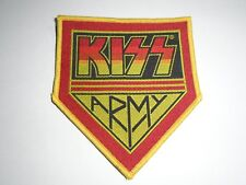 KISS ARMY WOVEN PATCH