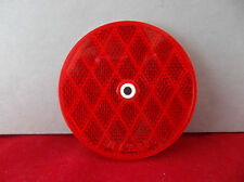NOS Bargman Rear Red Reflector Center Mount Trailer Lens SAE A 99 DOT