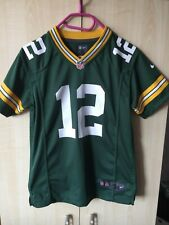 Aaron Rodgers #12 Green Bay Packers NFL nike Jersey Youth M Medium child