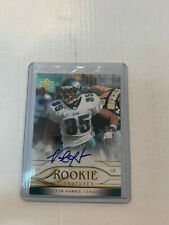 Victor Harris 2009 SP Rookie Auto Card #RS-VH