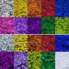 Facetten-Pailetten 20g 6mm Farbauswahl gewölbt mix Schmuckdeko ca.1800 Stück
