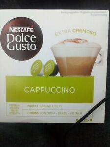 2x 16 pods Nescafe DOLCE GUSTO CAPPUCCINO EXTRA CREMOSO (32 PODS)