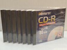 Memorex CD-R High Capacity 80 min: 7 ea.
