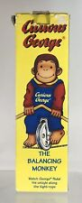 Vintage Curious George Balancing Monkey Unicycle Pedal Toy Bike 1995 Schylling
