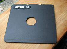 Cambo SC Monorail 10x8 5x4 lens board copal compur 0 ,  34.7mm hole