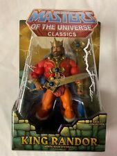 MOTU MASTERS OF THE UNIVERSE CLASSICS KING RANDOR NO MAILER BOX