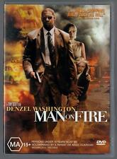 Man On Fire - DVD, Action, Denzel Washington