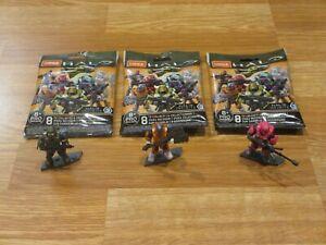 Mega Construx Halo Infinite Series 3 Blind Bag LOT - ALL 3 UNSC SPARTANS **NEW**