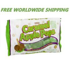 Tootsie Caramel Green Apple Pops Candy w/ Caramel 9.4 Oz FREE WORLDWIDE SHIPPING