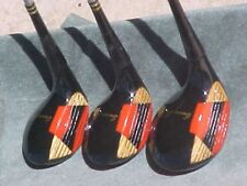 Walter Hagen American Lady Golf Clubs Rare set Refinish Womens Woods Driver 3 5