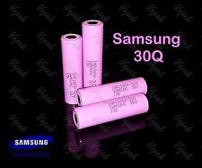 4 SAMSUNG 30Q INR 18650 3000mAh/15A High Drain Flat Top Rechargeable Battery