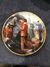 "Collector Ellis Island Plate ""Together at Last"" Max Ginsburg Fine Porcelain"