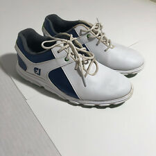 FootJoy Boys' Junior Spikeless Pro/SL Golf Shoe Size 3M, pre-owned, read details