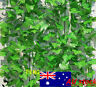 82 feet artificial grape vine faux Ivy Leaf Garland Plants Fake Foliage green