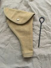 WW2 WWII UK BRITISH SOLDIER ARMY TOOL P37 HOLSTER WITH CLEANING ROD