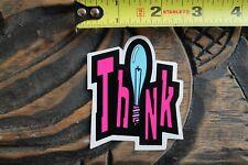 Vintage Think Skateboards Stickers NOS set of 2