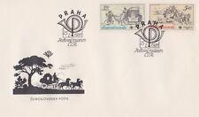Czchoslovakia envelope Post Muzeum stagecoach