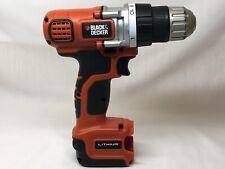 Black & Decker 12V Lithium Drill LDX112  LBXR12, No Battery, No Charger- WORKS