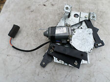 ASTON MARTIN DB7 V12 N/S LEFT CONVERTIBLE REAR WINDOW MOTOR REGULATOR & LINKAGE