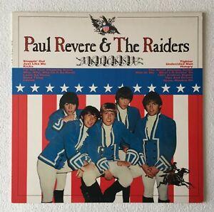 PAUL REVERE & THE RAIDERS~KICKS~1983 UK 16-TRACK VINYL LP + INSERT~EDSEL ED 123