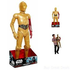 Star Wars Big Figs Episode VII Massive 31 Inch C3PO Action Figure - New