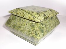 NEW!! Serpentinite Jewerly BOX. Deep color !! South Ural, Russia. #2