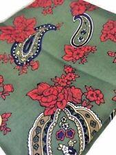 Vintage Style PAISLEY SCARF Cinzia Fiou for Tie Rack Square 78 x 78cm