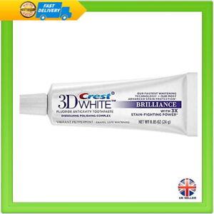 Crest 3D White Toothpaste Brilliance Teeth Whitening 0.85oz