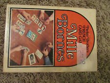 VTG 1971 Parker Brothers French Card Game Mille Bornes w/ Instructions & Box