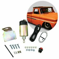 street rod 35 Lbs Shaved Door Solenoid Pop Handle / Latch Popper Kit Street