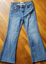 "MADEWELL ""FLEA MARKET FLARES"" sz 28 stretch high waist cropped ankle 28 inseam"