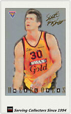 1994 Australia Basketball Card NBL Series 2 National Heroes NH8: Scott Fisher