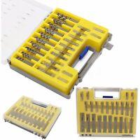 150x Power Rotary Micro Twist Precision Drill Bits Set Mini Small Tool Accessory