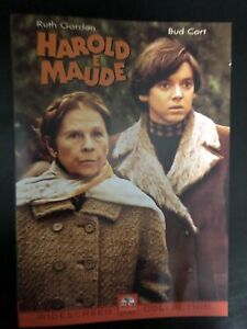 Harold E Maude DVD 1971 Cult Comedy Drama Ruth Gordon, Bud Cort Reg 2 RARE OOP