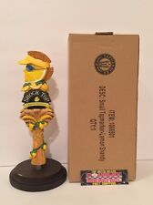 "Shock Top Lemon Shandy Mohawk Dude Beer Tap Handle 8"" Tall - Brand New In Box!"
