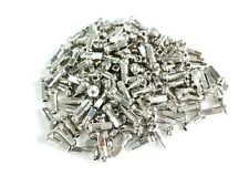 DT Swiss 1.8 x 12mm Silver Brass Nipples Bag of 100