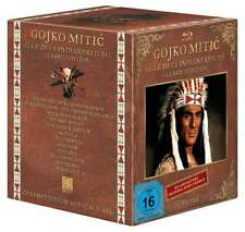 GOJKO MITIC Gesamtbox INDIANERFILME  HD remastered DEFA WESTERN 12 BLU-RAY Box