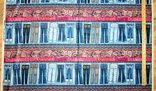 "Diamonds & Denim Blue Jeans Sampler Stripe Spx Fabric 23"" Repeat #24401"